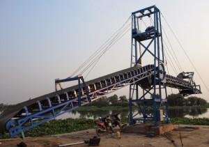 Khung Băng Tải Cầu Cảng